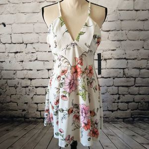 Trixxi Fit and Flare Floral Dress XL